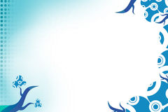 blått vin, abstrackbakgrund Royaltyfri Foto