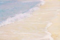 Blått vinkar Arkivfoto