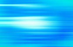 Blått vinkar abstrakt bakgrund för blur Royaltyfria Bilder
