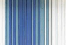 Blått, vit och grå färger målad träbakgrundstextur Royaltyfri Foto