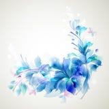 Blåttblommor vektor illustrationer