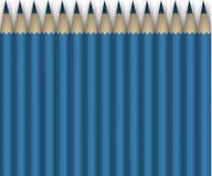 Blåttblyertspennor. Bakgrund Royaltyfri Bild