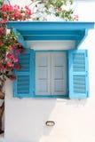 Blåttfönster Fotografering för Bildbyråer