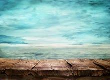 Blåtthav, Sky & moln Arkivbild