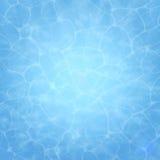 Blåtthav, Sky & moln som bakgrund är kan surface textur använt vatten Pool vatten Över huvudet sikt Bakgrund för vektorillustrati vektor illustrationer