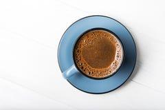 Blåttkaffe kuper royaltyfri foto