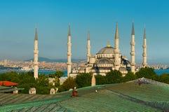 Blåttmoské Istanbul Arkivbild