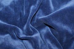 Blåttvågor av plysch Arkivfoto