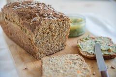blé de jpg de pain entier Photo stock