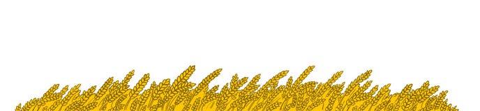blé de zone Illustration Stock