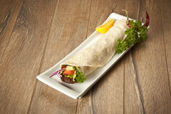Blé dur de chiche-kebab d'Adana de turc Image stock