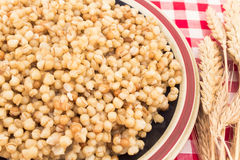 Blé et oreille cuits de blé Image stock