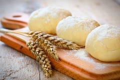 Blé et pâte Photo stock
