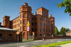 Blöcke der Wohnung in der Stadt von Lodz Stockfotos
