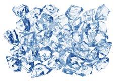 Blöcke des Eises lizenzfreie stockfotos