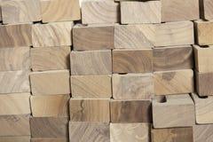Blöcke des Holzes Stockbild