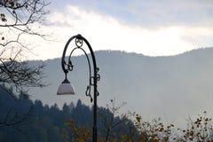Blödd Lake, Slovenien royaltyfri bild