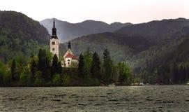 Blödd sjö - Slovenien Royaltyfria Foton