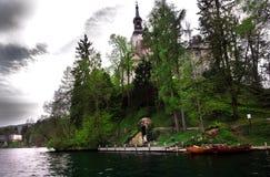 Blödd sjö - Slovenien Royaltyfri Foto
