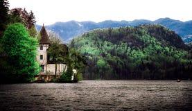 Blödd sjö - Slovenien Arkivbilder