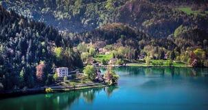 Blödd sjö - Slovenien Royaltyfri Fotografi