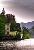 Blödd sjö - Slovenien Arkivbild