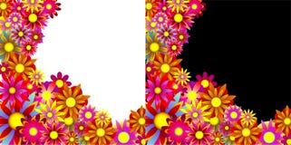 Blühen Sie abstrakten Hintergrund Stockfotografie