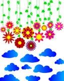 Blühen Sie abstrakten Hintergrund Lizenzfreie Stockfotografie