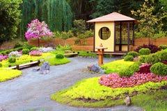 Blühen Sie Ausstellung ` Japan mit den Augen Ukraine-` bei Spivoche Pole in Kyiv, Ukraine lizenzfreies stockbild