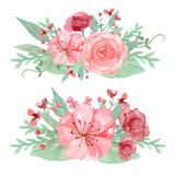 Blühen Sie Dekoration Stockfotos