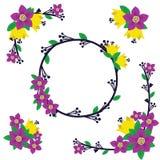 Blühen Sie Dekoration Lizenzfreies Stockbild