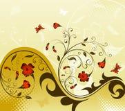 Blühen Sie Hintergrund Lizenzfreie Stockbilder