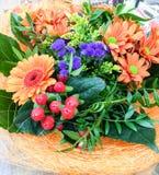 Blühen Sie Korb Stockbild