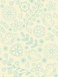 Blühen Sie nahtloses Muster Stockbilder