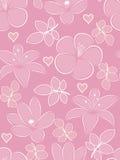 Blühen Sie nahtloses Muster. Lizenzfreies Stockbild