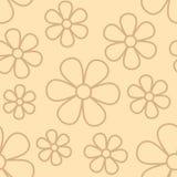 Blühen Sie nahtloses Muster Lizenzfreie Stockbilder