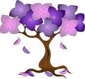 Blühender Baum lizenzfreie abbildung