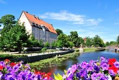 Blühendes Uppsala. Schweden Lizenzfreie Stockfotos