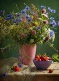 Blüht Blumenstrauß Stockfotos