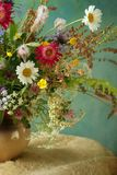 Blüht Blumenstrauß Lizenzfreies Stockfoto