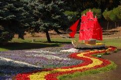 Blüht Boot Stockbilder