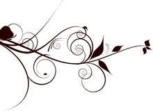 Blüht Dekoration lizenzfreie abbildung