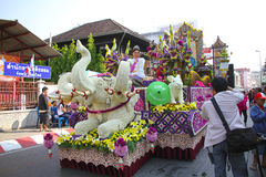 Blüht Festival Stockfoto