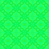 Blüht Glockenblumegraphikabstraktions-Mustergrün Lizenzfreie Stockfotografie