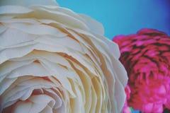 Blüht handgemachte Weißrose Lizenzfreie Stockbilder