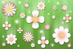Blüht Hintergrund Stockbild