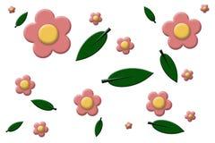 Blüht Hintergrund Lizenzfreie Stockfotos