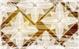Blüht Hintergrund Lizenzfreies Stockbild