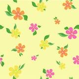 Blüht nahtlosen Hintergrund lizenzfreie abbildung