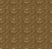 Blüht nahtlosen Hintergrund Lizenzfreie Stockfotografie